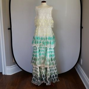 Not So Serious Embroidered Cypress Maxi Dress